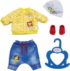 Zapf Creation® 827918 - BABY born Little Cool Kids Outfit, Puppenbekleidung, 36cm
