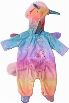 Zapf Creation® 828205 - BABY born Kuschelanzug Einhorn, Puppenbekleidung, 43cm