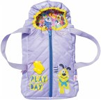 Zapf Creation® 828014 - BABY born Schlaf- und Tragetasche mit 2-in1-Funktion, Puppenzubehör 43 cm