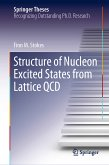 Structure of Nucleon Excited States from Lattice QCD (eBook, PDF)