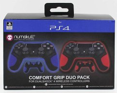 Official Sony PlayStation PS4 DualShock 4 Comfort Grip Twin Pack
