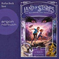 Die Rückkehr der Zauberin / Land of Stories Bd.2 (MP3-Download) - Colfer, Chris