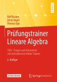 Prüfungstrainer Lineare Algebra (eBook, PDF)