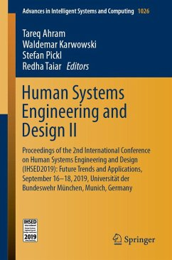 Human Systems Engineering and Design II (eBook, PDF)