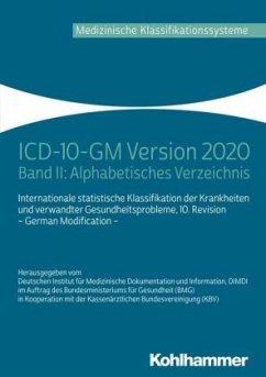 ICD-10-GM 2020 Alphabetisches Verzeichnis