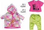 Zapf Creation® 828328 - BABY born Deluxe Trendiges Regenbogen Set, Puppenbekleidung, 43cm