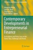 Contemporary Developments in Entrepreneurial Finance (eBook, PDF)