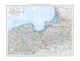 Historische Karte: Provinzen WESTPREUSSEN und OSTPREUSSEN im Deutschen Reich - 1897 [gerollt]