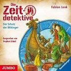Die Zeitdetektive. Der Schatz der Wikinger. Ein Krimi aus der Zeit der Drachenkrieger [7] (MP3-Download)