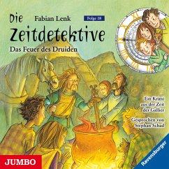 Die Zeitdetektive. Das Feuer des Druiden. Ein Krimi aus der Zeit der Gallier [18] (MP3-Download) - Lenk, Fabian