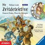 Die Zeitdetektive. Francis Drake, Pirat der Königin. Ein Krimi aus der Zeit der Seefahrer [14] (MP3-Download)