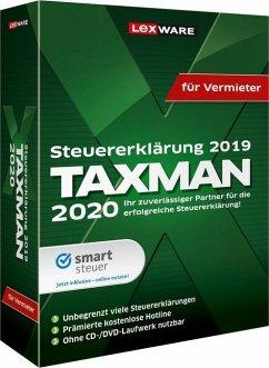 TAXMAN 2020 für Vermieter, CD-ROM