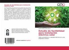 Estudio de factibilidad para instalación eléctrica solar - Olivas Ibarra, Janeth Nicolasa