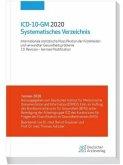 ICD-10-GM 2020 Systematisches Verzeichnis
