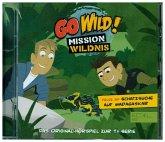 Go Wild! - Mission Wildnis - Schatzsuche auf Madagaskar, 1 Audio-CD