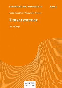 Umsatzsteuer (eBook, PDF) - Meissner, Gabi; Neeser, Alexander