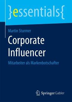 Corporate Influencer - Sturmer, Martin