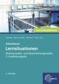 Rechtsanwalts- und Notarfachangestellte, Lernsituationen 2. Ausbildungsjahr