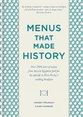 Menus that Made History (eBook, ePUB)