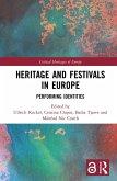 Heritage and Festivals in Europe (eBook, ePUB)