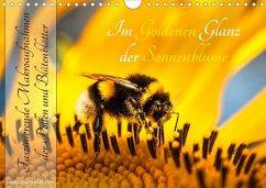 Im Goldenen Glanz der Sonnenblume (Wandkalender 2020 DIN A4 quer)