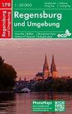 Regensburg und Umgebung, Wander- Radkarte 1 : 50 000