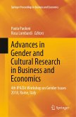 Advances in Gender and Cultural Research in Business and Economics