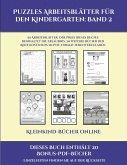 Kleinkind-Bücher online (Puzzles Arbeitsblätter für den Kindergarten: Band 2): 50 Arbeitsblätter. Der Preis dieses Buches beinhaltet die Erlaubnis, 20