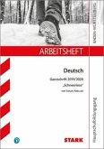 STARK Arbeitsheft Hauptschulbildungsgang - Deutsch - BaWü - Ganzschrift 2019/2020 - Susan Kreller: Schneeriese