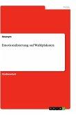 Emotionalisierung auf Wahlplakaten