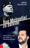 Von Mussolini zu Salvini (eBook, ePUB)