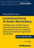 Landesbauordnung für Baden-Württemberg (eBook, PDF)