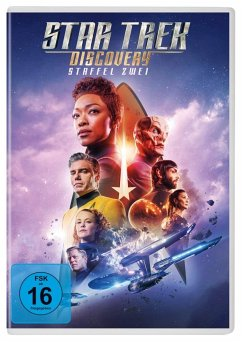 Star Trek: Discovery - Staffel 2 DVD-Box - Sonequa Martin-Green,Doug Jones,Shazad Latif