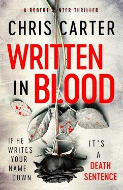 Written in Blood - Carter, Chris