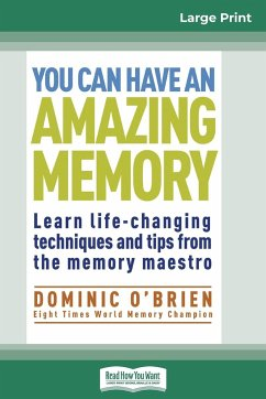 You Can Have an Amazing Memory (16pt Large Print Edition) - O'Brien, Dominic