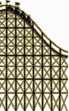 gold Rollercoaster creative journal - Huhn, Sir Michael; Huhn, Michael