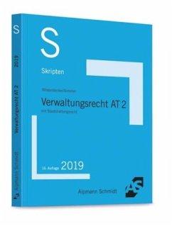 Skript Verwaltungsrecht AT 2 - Wüstenbecker, Horst; Sommer, Christian