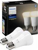 Philips Hue LED Lampe E27 Set 2er white 806lm BT