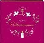 Eintragalbum - Meine Erstkommunion (beerenfarben)