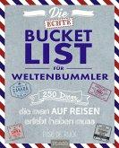 Die echte Bucket List für Weltenbummler