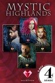 Druidenblut, Druidenliebe, Mythenbaum und Mythenschwert / Mystic Highlands Bd.1-4 (eBook, ePUB)