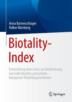 Biotality-Index (eBook, PDF) - Bartenschlager, Anna; Nürnberg, Volker