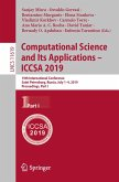 Computational Science and Its Applications - ICCSA 2019 (eBook, PDF)