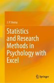 Statistics and Research Methods in Psychology with Excel (eBook, PDF)