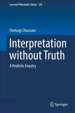 Interpretation without Truth (eBook, PDF) - Chiassoni, Pierluigi