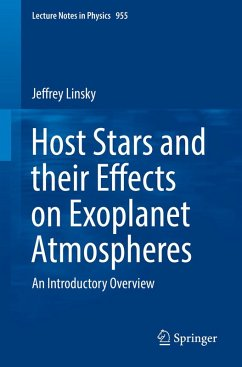 Host Stars and their Effects on Exoplanet Atmospheres (eBook, PDF) - Linsky, Jeffrey