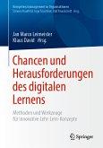 Chancen und Herausforderungen des digitalen Lernens (eBook, PDF)
