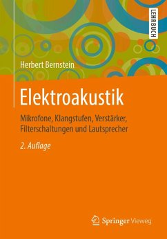 Elektroakustik (eBook, PDF) - Bernstein, Herbert