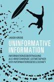 Uninformative Information (eBook, PDF)