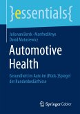 Automotive Health (eBook, PDF)
